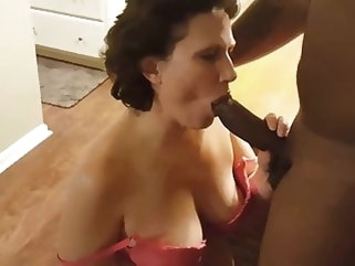 mature White Gilf Fucks Black Man Hard. Interracial creampie interracial