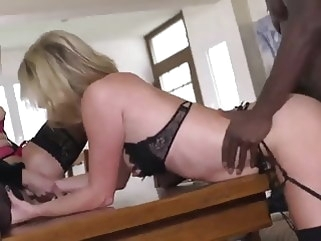 blonde French sluts try BBC mature top rated