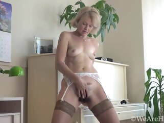 blonde Diana Douglass hairy hd