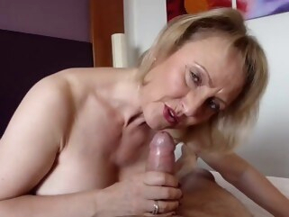 granny With age, cums experience.