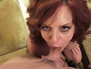 big tits Passionate, red haired mature woman, Andi james likes to fuck her tattooed lover, every day hairy hd