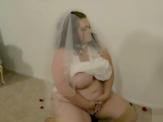 bbw 13 Days of Halloween Your Bride Mazzaratie Monica hd solo female