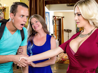 big ass Blake Morgan Justin Hunt in My Mom's Best Friend - DigitalPlayground big tits blonde