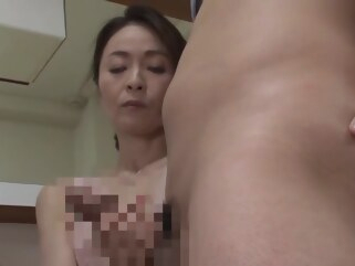 japanese Mother In Law Can't Resist His Stepson mature