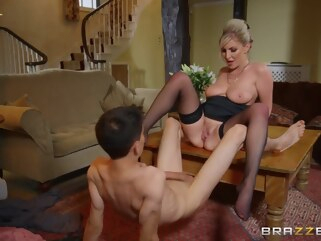 big ass Georgie Lyall & Jordi El NiГ±o Polla in Pounding The Problem Son - BRAZZERS big tits high heels