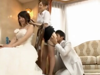 asian Father Fuck The Bride, Scene 3 cumshot cunnilingus