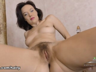 brunette Latisha Minx in Masturbation Movie - ATKHairy hairy high heels