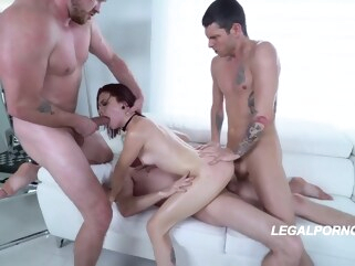 anal Three is enough big cock cumshot