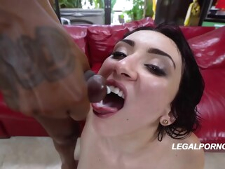 anal Big ass woman in garter belt and stockings, Mandy Muse got naked and fucked two black guys big ass brunette