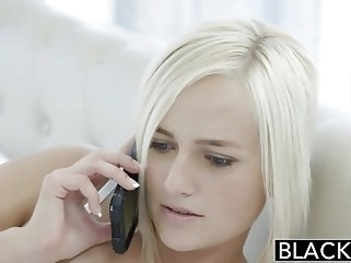 blowjob BLACKED Cheating Blonde Wife Kate Englands first BBC top rated stockings