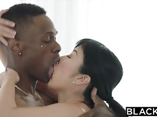 asian BLACKED Japanese Journalist vs The BIGGEST BBC IN THE WORLD blowjob brunette