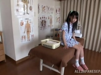 asian Hot Asian teen enjoys the art of erotic massage creampie japanese