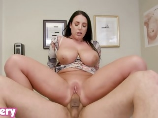 big cock Trickery - Doctor Angela White fucks the wrong patient big tits milf
