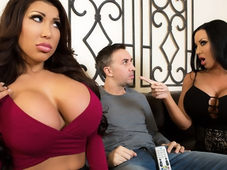 asian August Taylor & Sybil Stallone & Keiran Lee in Sharing Is Caring - Brazzers big ass big tits