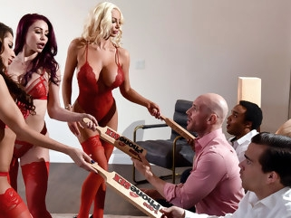 big ass Madison Ivy & Monique Alexander & Nicolette Shea & Johnny Sins in 1 800 Phone Sex: Line 8 - BrazzersNetwork big tits facial