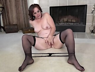 brunette Curvaceous, Mature Brunette, Sonic got Naked and Started Masturbating HD german hd