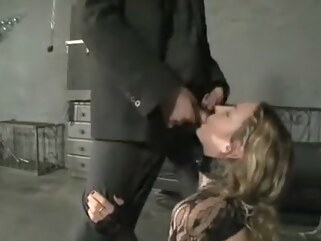bdsm Hottest homemade Blonde, Stockings porn scene blonde fetish