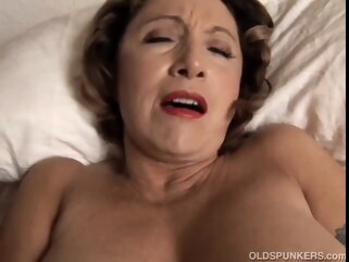 mature Hot cougar has perverted piercings and a plump soaked twat straight