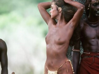 celebrity White African Sex Godess Redux straight