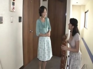 japanese I visited the home of my wife. milf mature