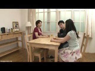 japanese Young wife and a mother in-law scene 1 mature straight