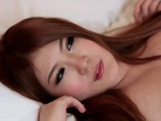 big tits Momoka Nishina HD hard threesome in lingerie (Japanese) cumshot hardcore