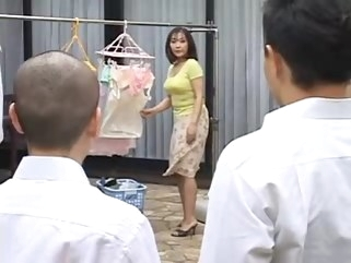 japanese Ht mature mother fucks her son's best friend mature straight